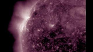 Solar Flare and CME Eruption, Mystery Lights, Polar Shift News   S0 News Jun.23.2021