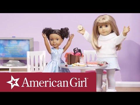 American Girl Holiday Panorama Stop Motion | American Girl