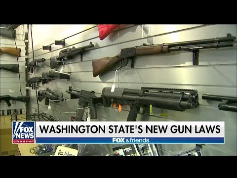 'I Cannot Enforce This Law': Police Chief Pushes Back on Washington's New Gun Restrictions