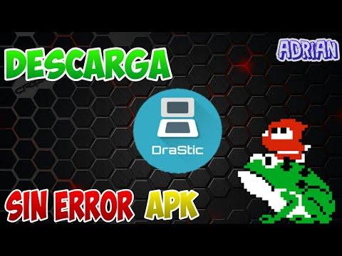 Descargar Drastic sin error de licencias para android apk - hackeado + pagina para descargar roms DS