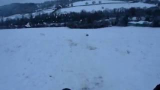 Kev and Nat sledging at Westwood