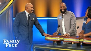 Meet Team Talbert! | Family Feud