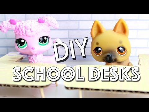 Miniature School Desk Tutorial - DIY for LPS and Dolls from YouTube · Duration:  3 minutes 39 seconds
