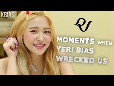 RED VELVET (레드벨벳) YERI - MOMENTS WHEN SHE BIAS WRECKED US