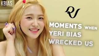 Download Lagu RED VELVET (레드벨벳) YERI - MOMENTS WHEN SHE BIAS WRECKED US