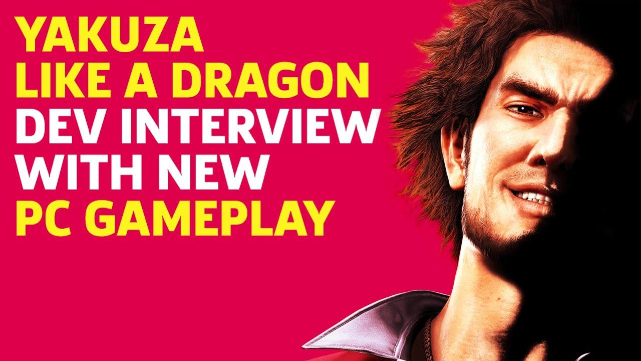Yakuza Like A Dragon English Pc Gameplay Interview With Scott