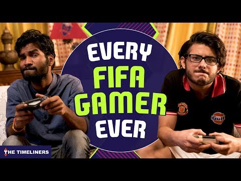 Every FIFA Gamer Ever Ft. CarryMinati | The Timeliners