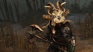Path of Exile: Bleached Demon King Horns