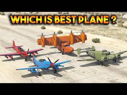 GTA 5 ONLINE : TULA VS ROGUE VS P-45 NOKOTA VS MOGUL (WHICH IS BEST PLANE?)