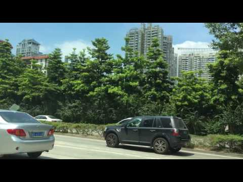 "New Daytime cab ride through Shenzhen, get a ""lay of the land"" view"