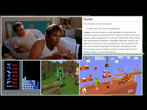 """Why video game movies stink. (SB Glossary - """"Story"""")"""