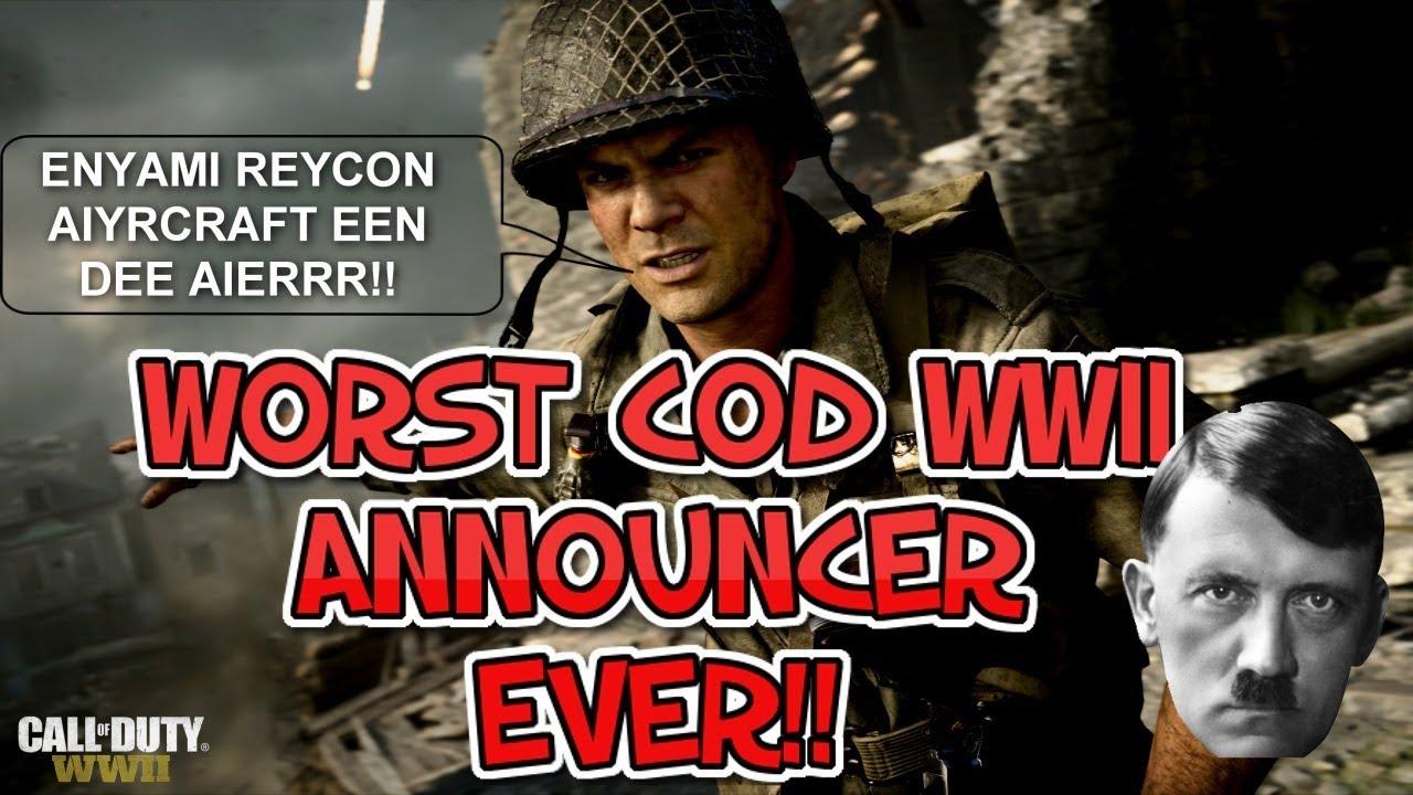 Worst German COD WW2 Announcer EVER!!