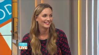 Leighton Meester reveals if she watched The O.C. and had a crush on Adam Brody (2017)