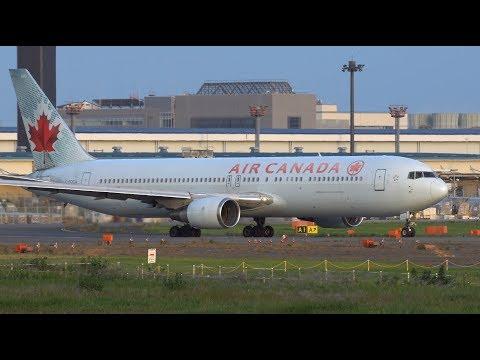 Air Canada Boeing 767-300ER C-FOCA Takeoff from NRT 16R