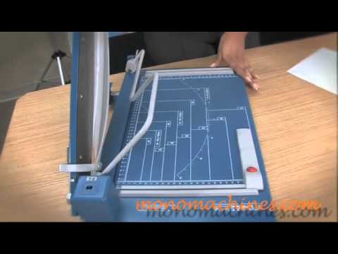 dahle 564 laser guillotine 14 5 inch cutter