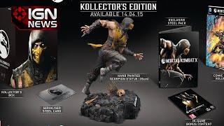 Mortal Kombat X Kollector's Editions Revealed - IGN News