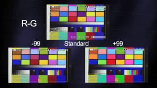 Xdcam Ex Color Matrix Setup And How To Instructional Video