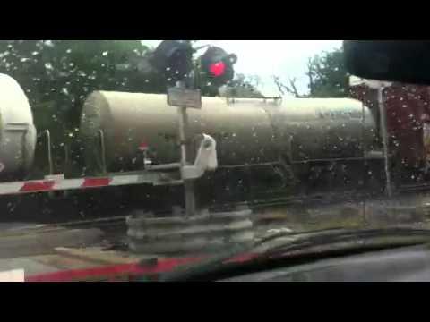 El tren en Houston texas