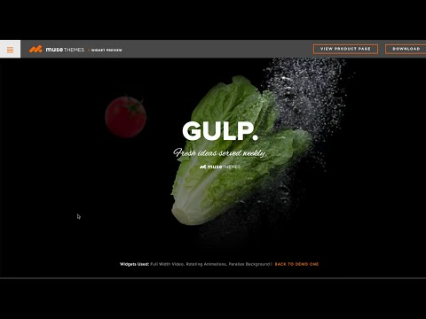 Parallax Backgrounds Widget in Adobe Muse   MuseThemes.com