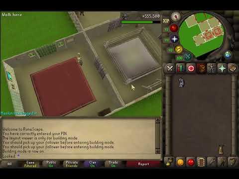 Osrs House Setup Guide Youtube