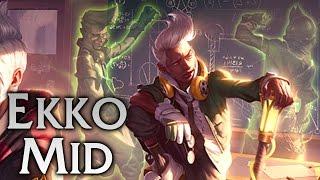Academy Ekko Mid - Full Game Commentary