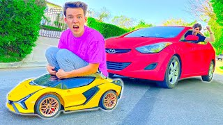 LIVING IN THE WORLDS SMALLEST CAR FOR 24HRS