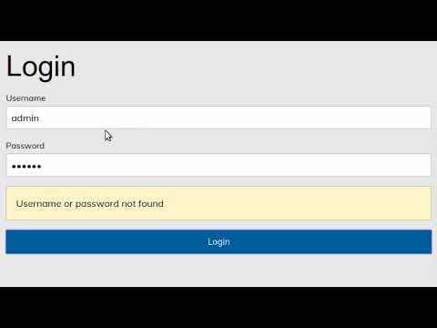 Simple Login Form Angular 4 Tutorial For Beginner