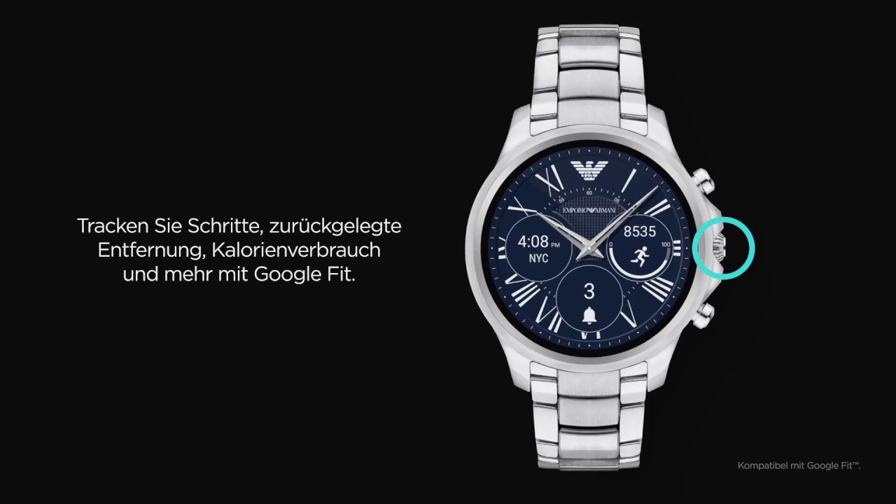 3b8b3096d7c Emporio Armani Exchange Connected - Touch Screen How To - YouTube