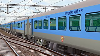 Mumbai - Ahmedabad Shatabdi Express   Indian Train Simulator   MSTS Indian Railways