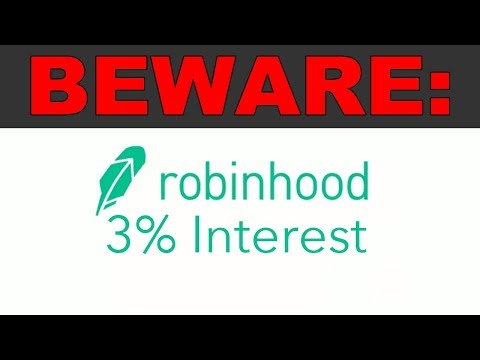 A warning about Robinhood's 3% Checking Account…