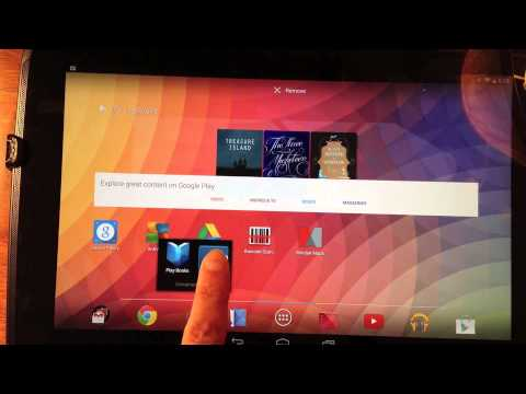 Nexus 10 - Add and Delete Apps from Play Store