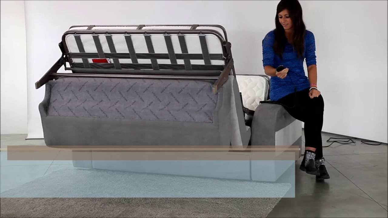 canape lit electrique canap rapido luxesofa haut de gamme youtube. Black Bedroom Furniture Sets. Home Design Ideas