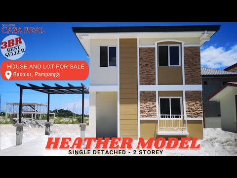 House and Lot for Sale Bacolor Pampanga Casa Real Solana Valencia l Heather Model Unit 3 Bedrooms