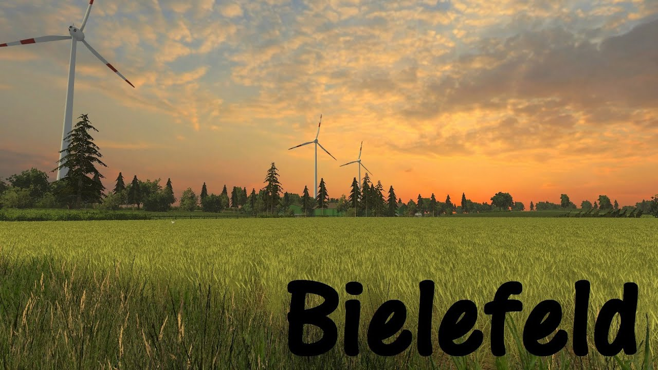 Bielefeld ModMap LSModcontest YouTube - Southern norway map ls15
