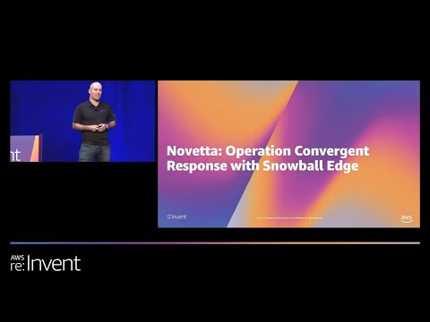 Data Migration and Edge Computing with the AWS Snow Family (STG214) - Novetta