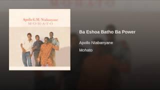 Ba Eshoa Batho Ba Power