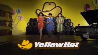YellowHat 「タイヤ・オイル・バッテリー 3人」篇.