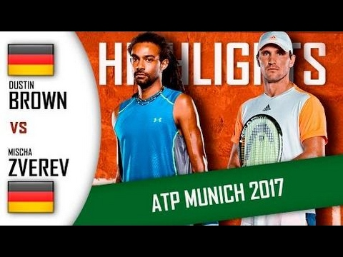 Dustin Brown Vs Mischa Zverev Hd720P60 Highlights Atp 250 Munich 2017