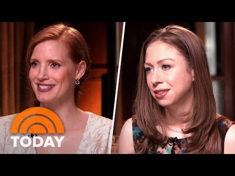 Jessica Chastain, Chelsea Clinton, Others Talk About Their Philanthropic Work | TODAY