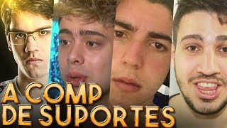 A COMP DOS SUPORTES POGCHAMP! (Ft. Jukes, Yoda, Zirigud e INTZ Maynah)