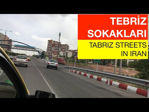 Tebriz İran Sokakları (Tabriz Streets in Iran) Part-2
