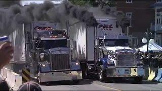 Semi Trucks Drag Racing