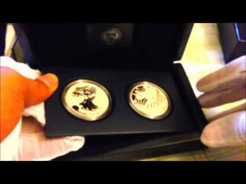 2013 American Silver Eagle West Point Two Coin Set