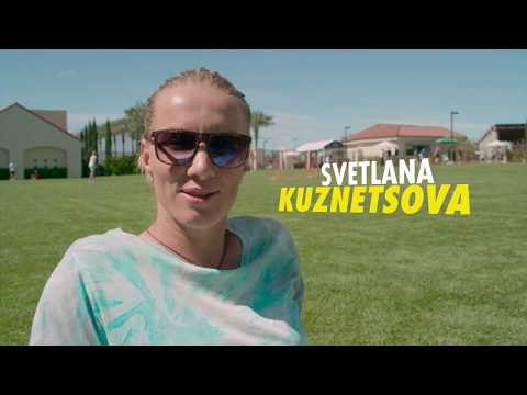 Svetlana Kuznetsova Bag Check