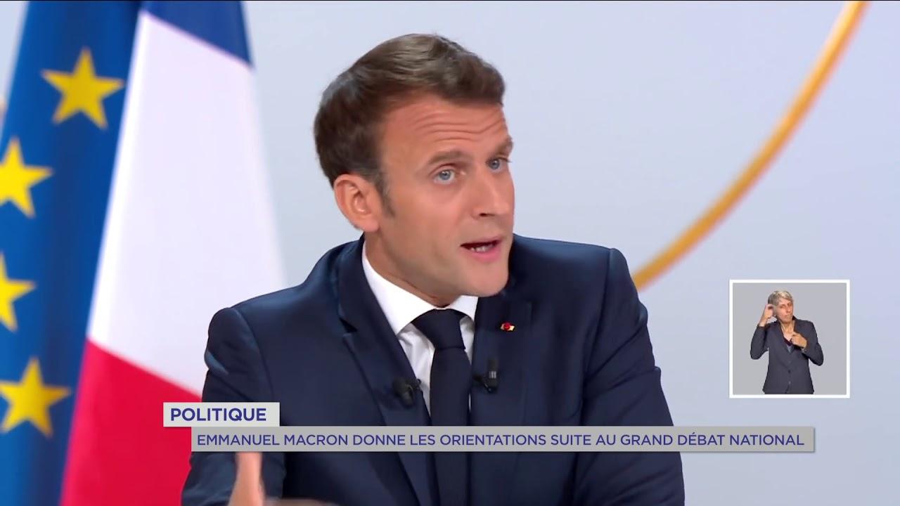 Yvelines   Politique : Emmanuel Macron donne les orientations suite au Grand débat national