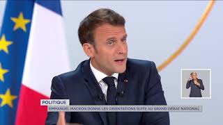 Yvelines | Politique : Emmanuel Macron donne les orientations suite au Grand débat national