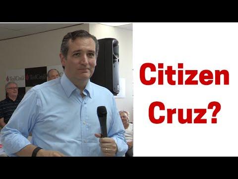 Citizen Cruz? Conservative Birther Summit on Natural Born Citizenship