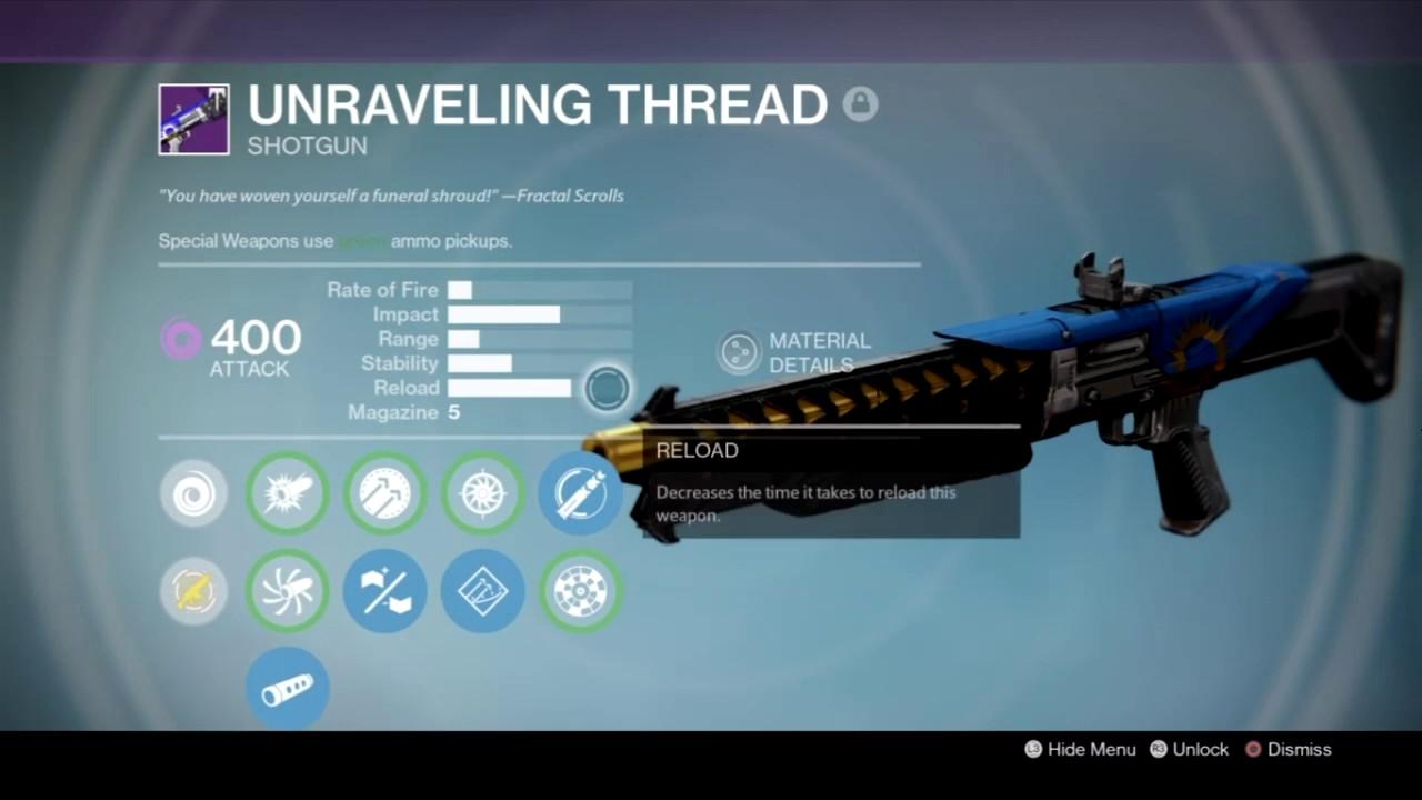 destiny: age of triumph - vault of glass weapon recommendation