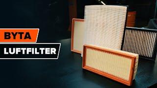 Byt Luftfilter på egen hand - gratis instruktionsvideo