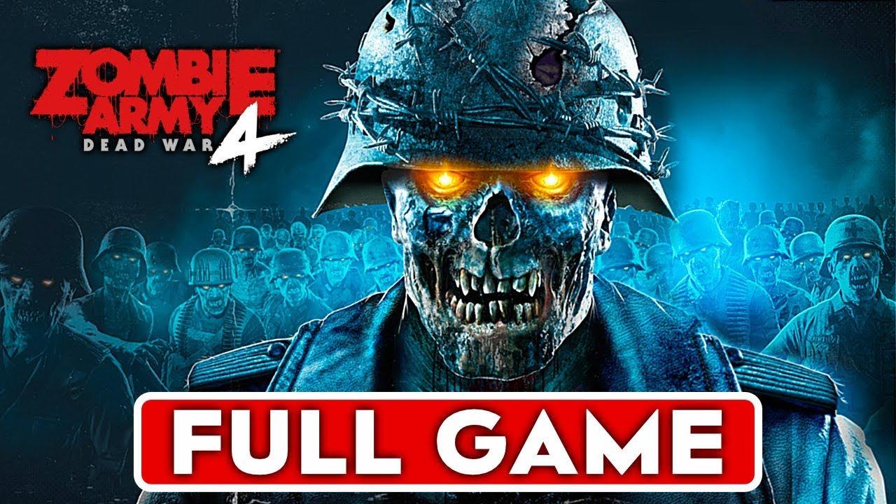 ZOMBIE ARMY 4 DEAD WAR Gameplay soluce Partie 1 JEU COMPLET [1080p HD 60FPS PC] - Pas de commentaire + vidéo